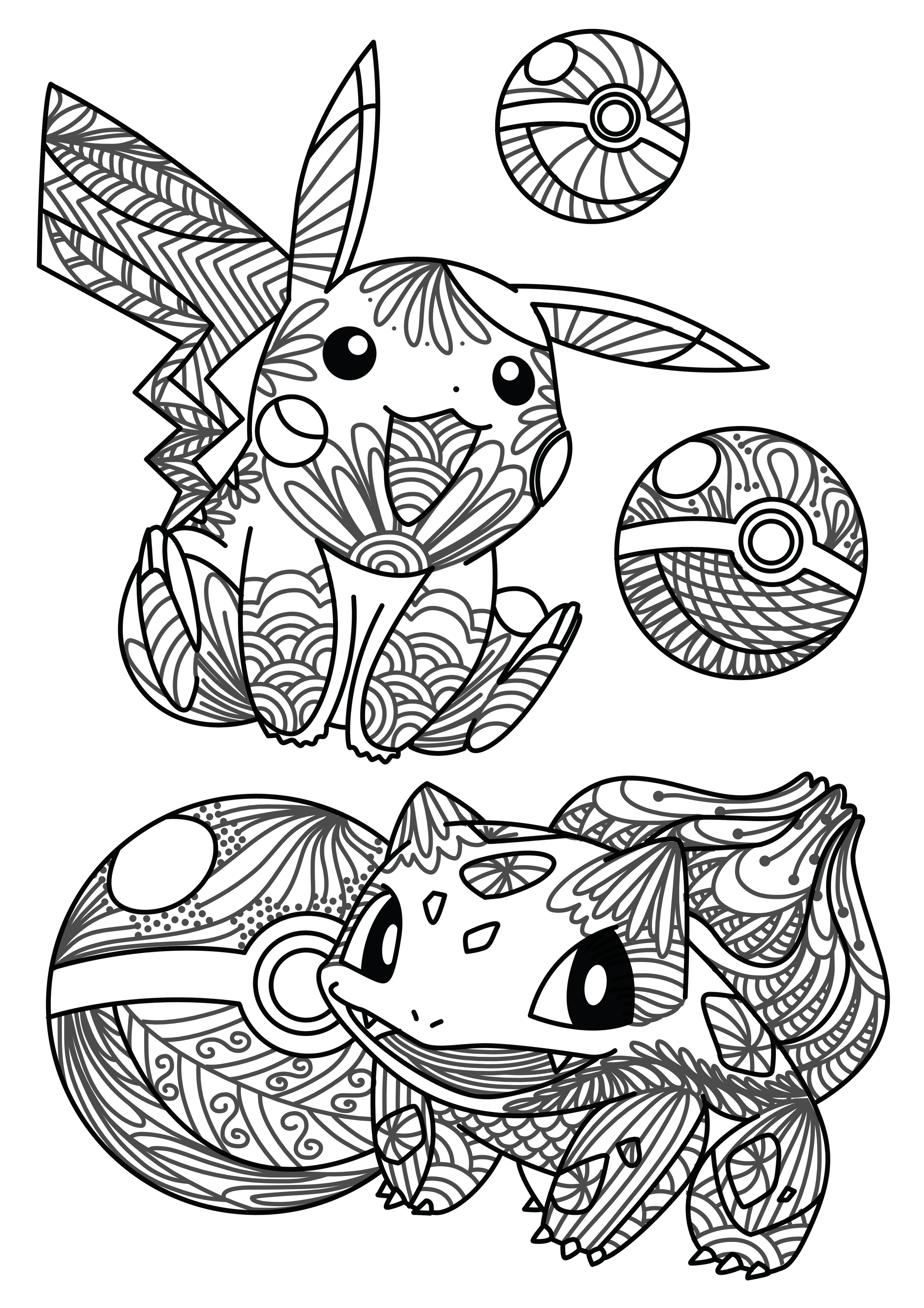 Christmas Coloring Pages On Pinterest With Modern Pokemon Decoration Ideas Newyork Rp