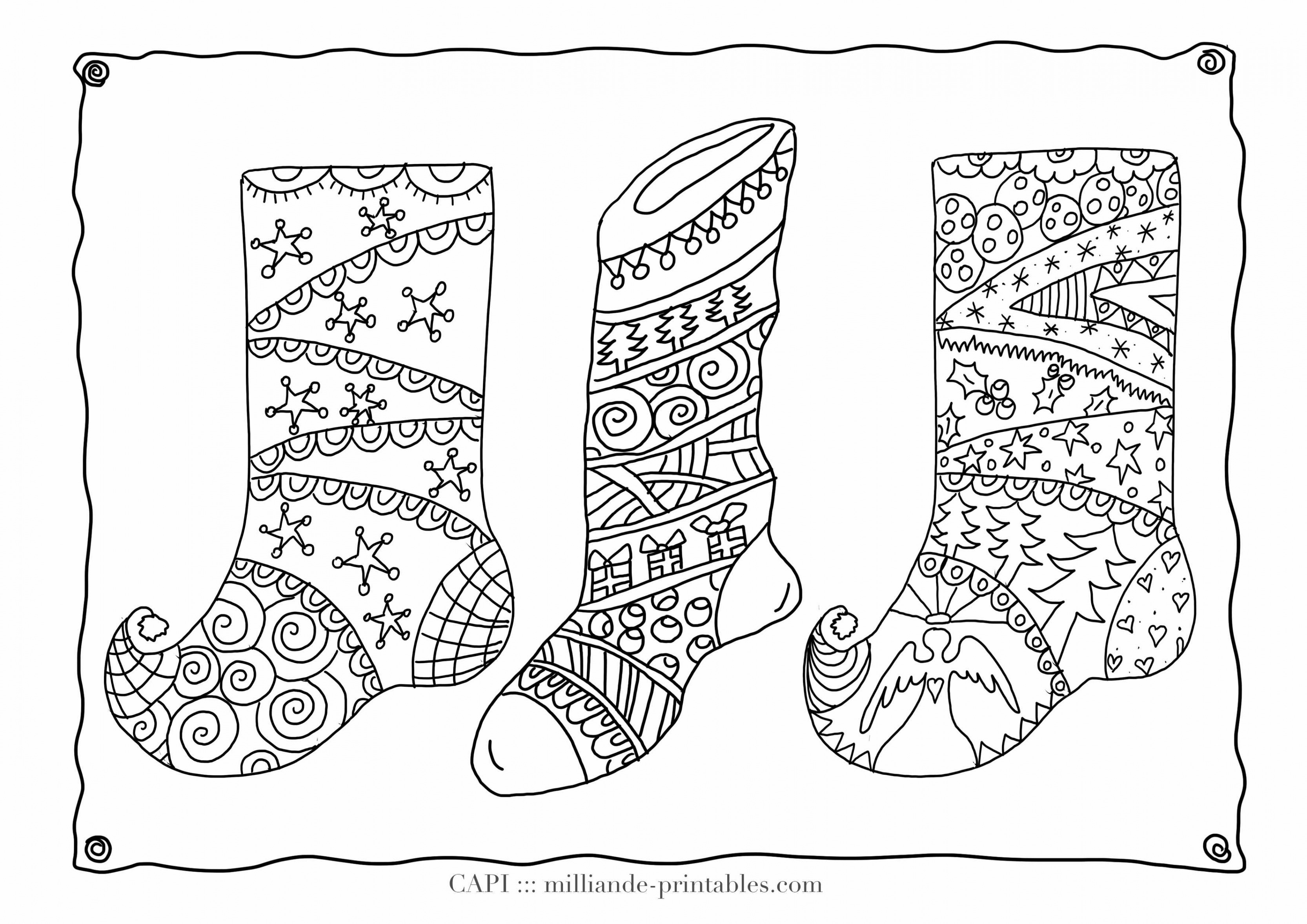 Christmas Coloring Pages Online Printable With Shopping Awesome Line