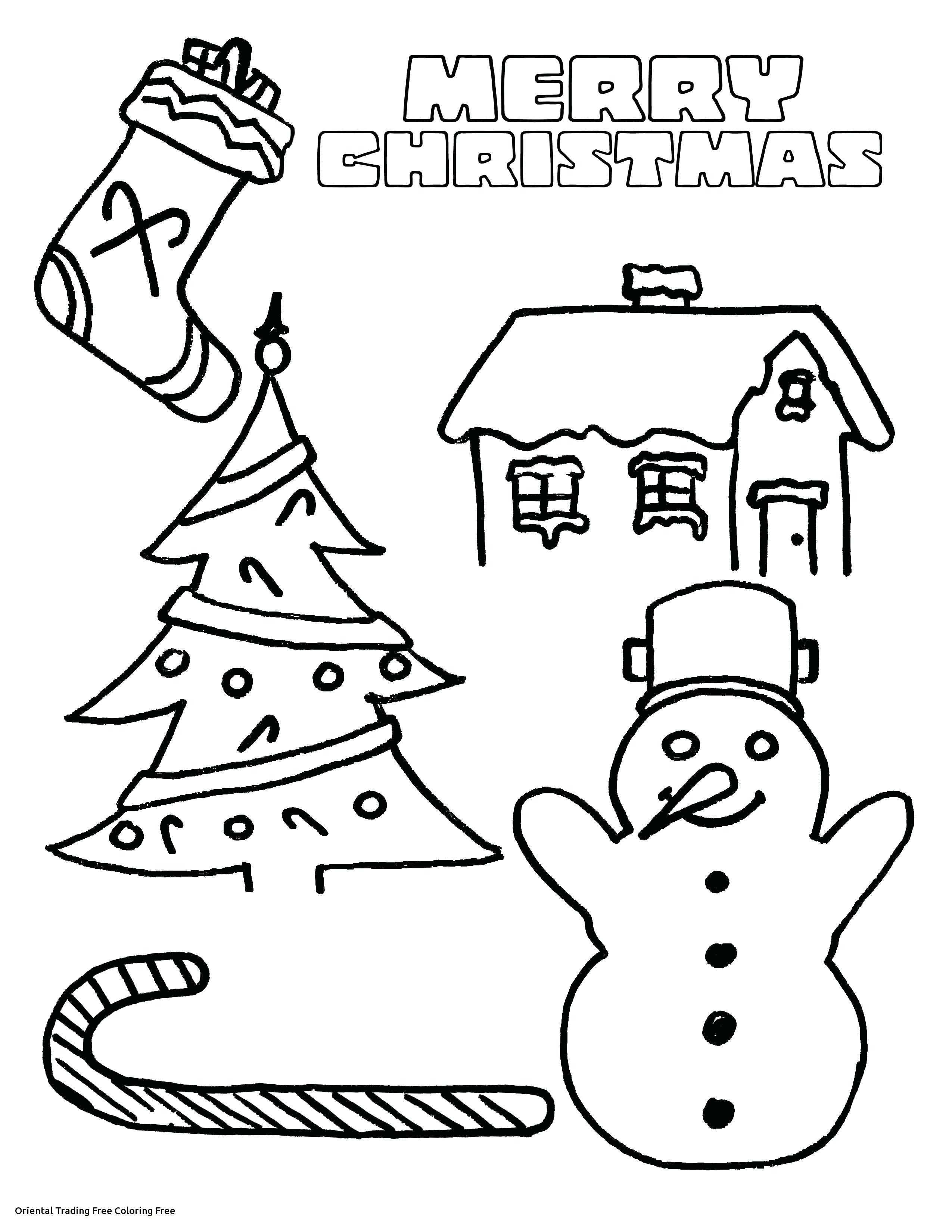 Christmas Coloring Pages Oriental Trading With Free Play Learn