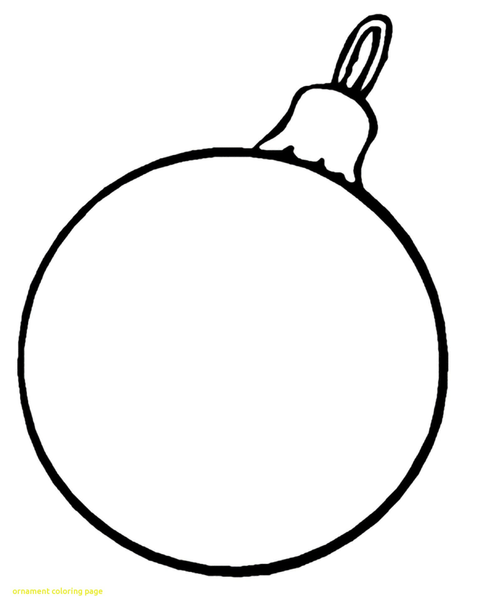 Christmas Coloring Pages Ornaments With Ornament Printable Decorations Bing Images Throughout