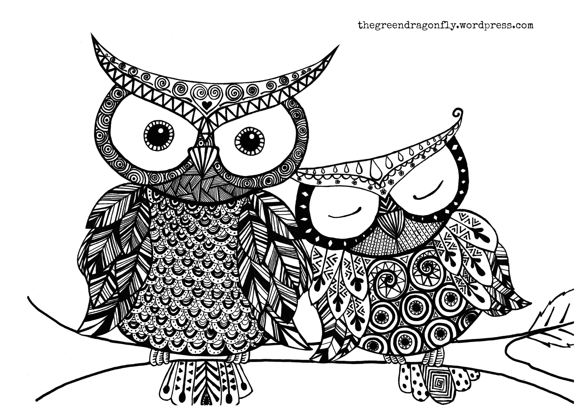 Christmas Coloring Pages Owls With Of Owl Gift Boxes Best Free