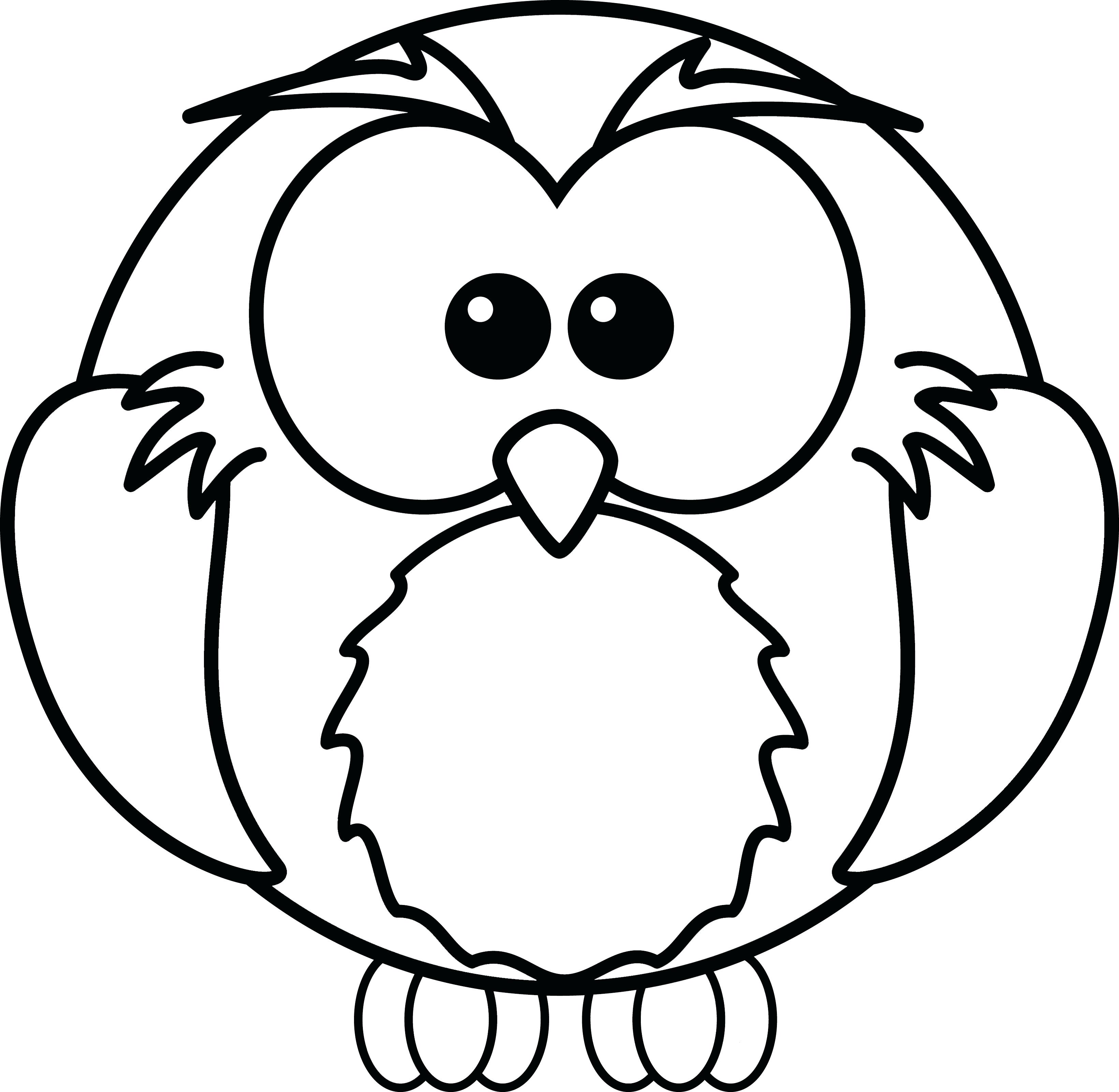 Christmas Coloring Pages Owls With Page Free Owl Printable Animage Me