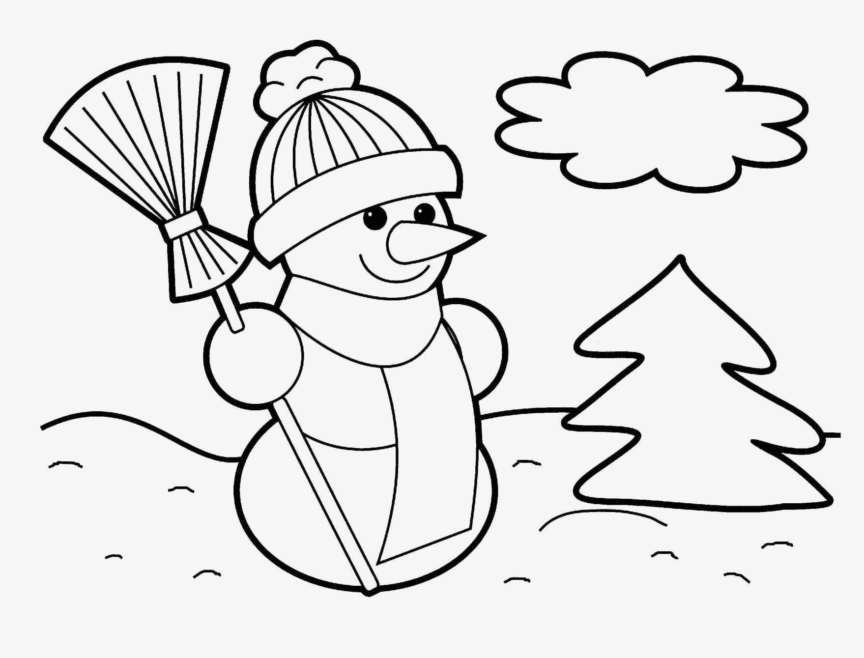 Christmas Coloring Pages Pdf With Kindergarten Baby Animals New