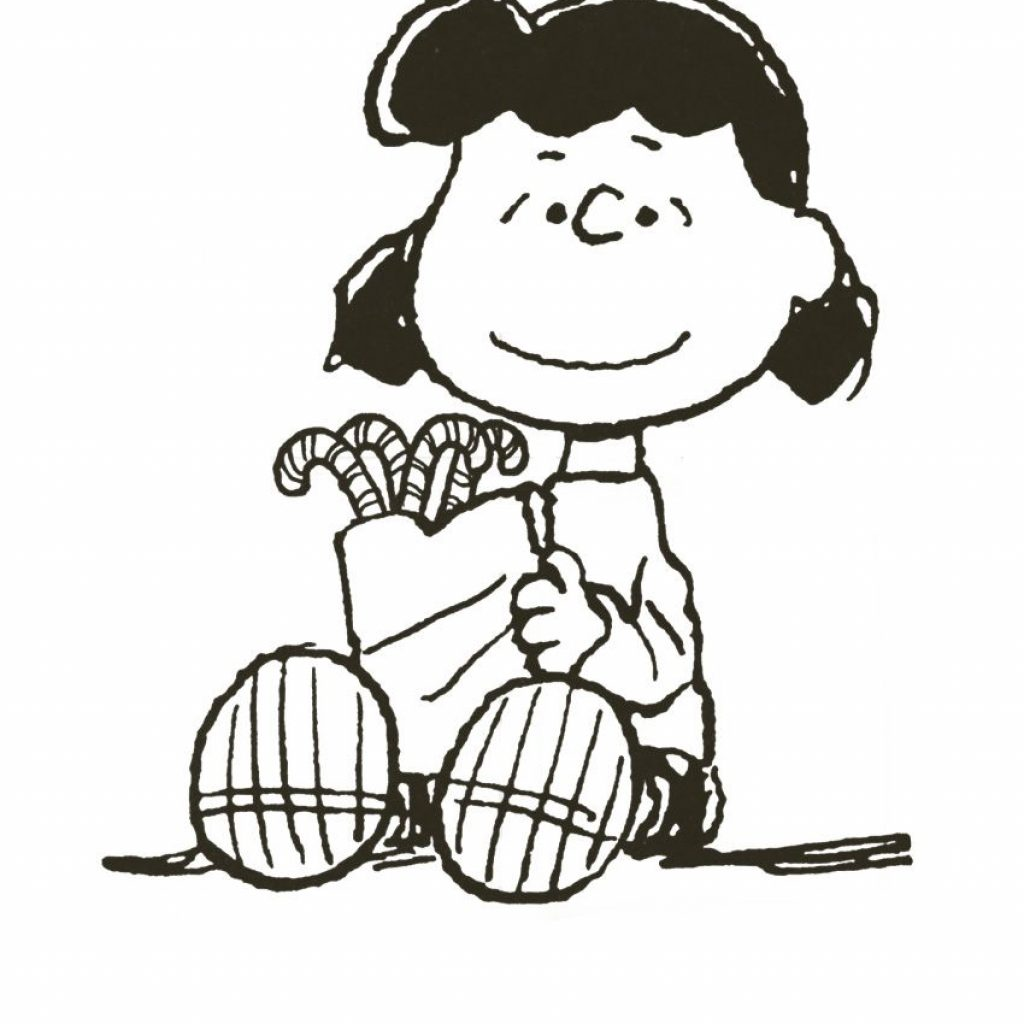 Christmas Coloring Pages Peanuts With Charlie Brown Pinterest