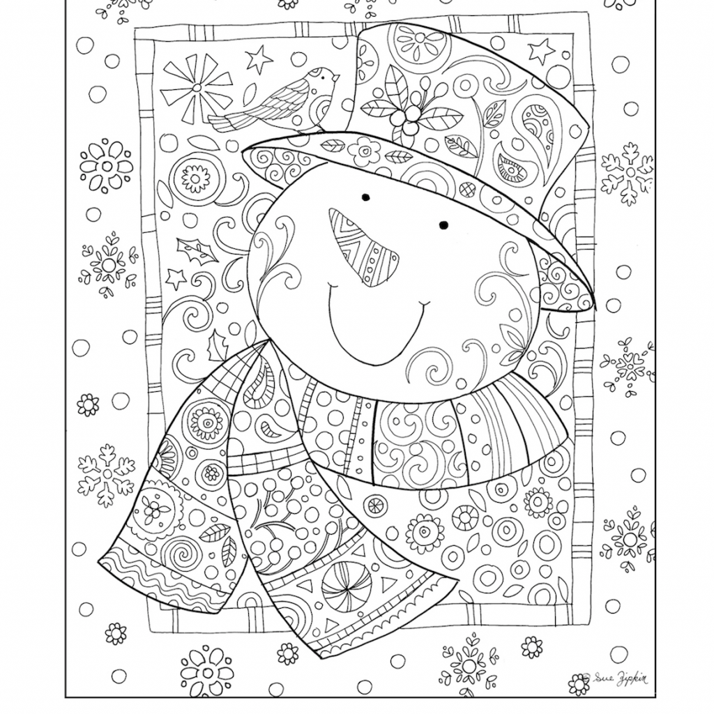 Christmas Coloring Pages Pinterest With ADULT COLOR SHEETS