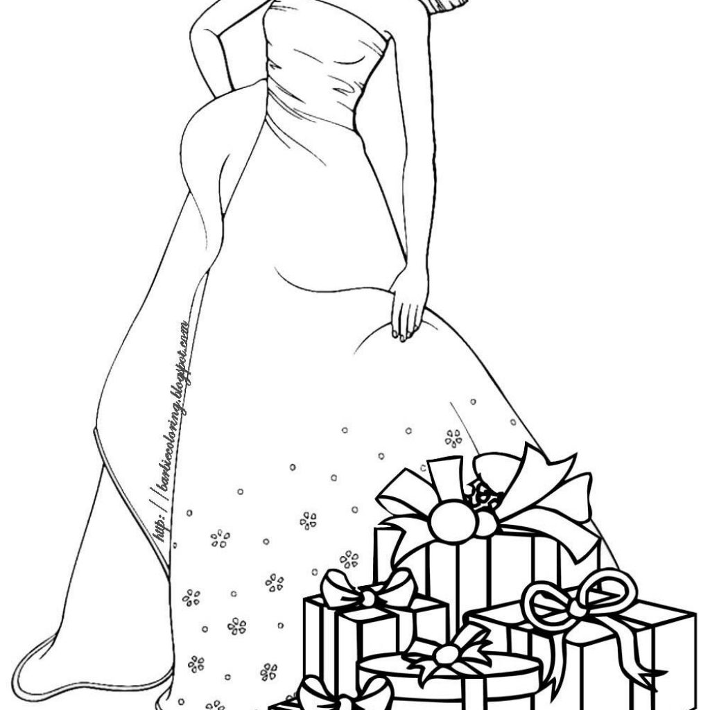 Christmas Coloring Pages Pinterest With Color Page Holiday Plate