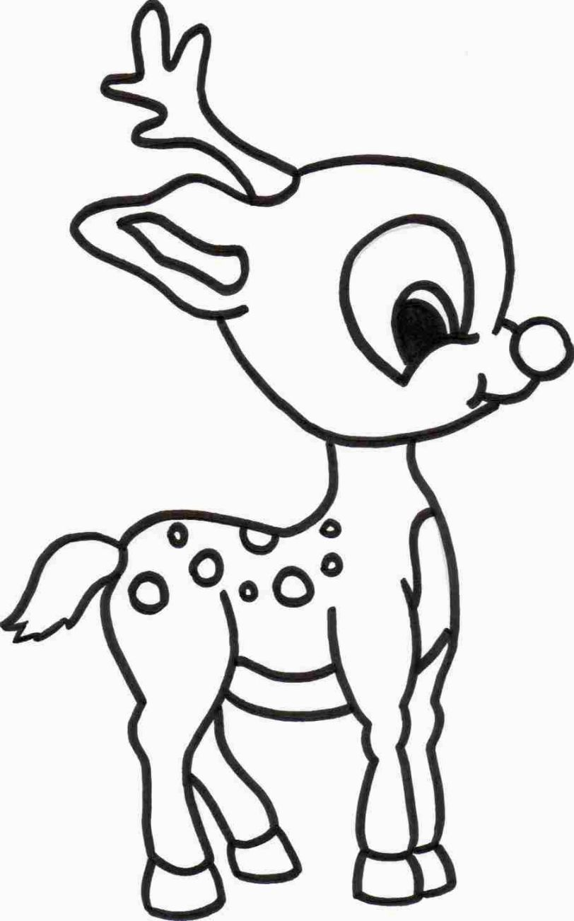 Christmas Coloring Pages Pinterest With Cute