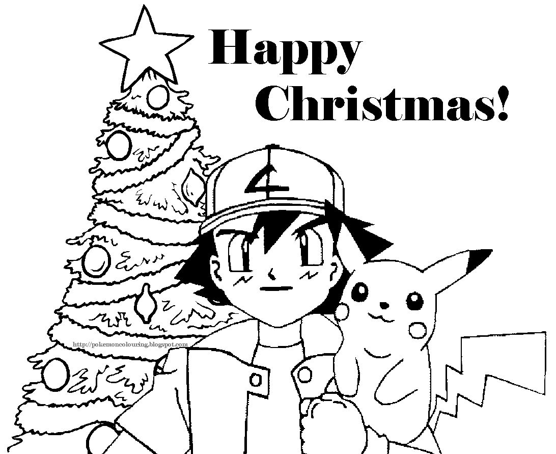 Christmas Coloring Pages Pokemon With POKEMON CHRISTMAS COLORING PICTURES FREE