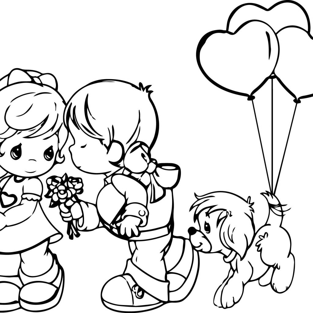 Christmas Coloring Pages Precious Moments With