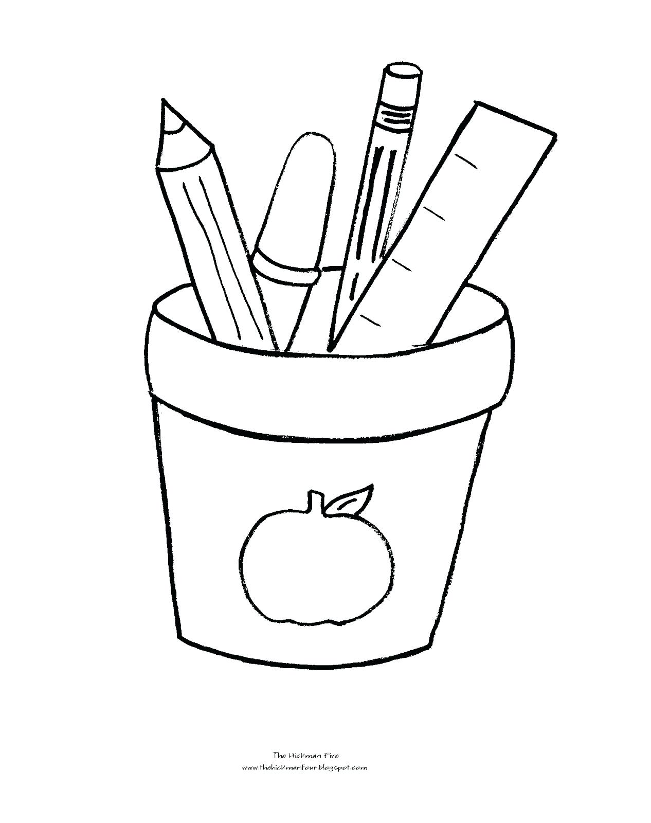 Christmas Coloring Pages Prek With Back To School Drawing At For