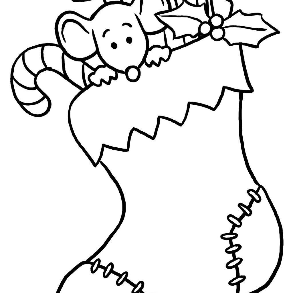 Christmas Coloring Pages Prek With Books Free Santa Claus