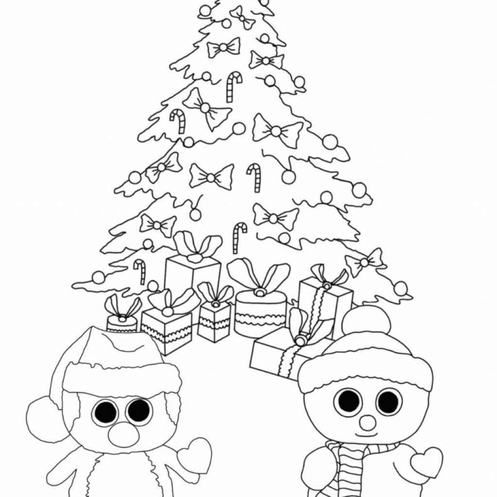 Christmas Coloring Pages Preschool With For Preschoolers Best Kids