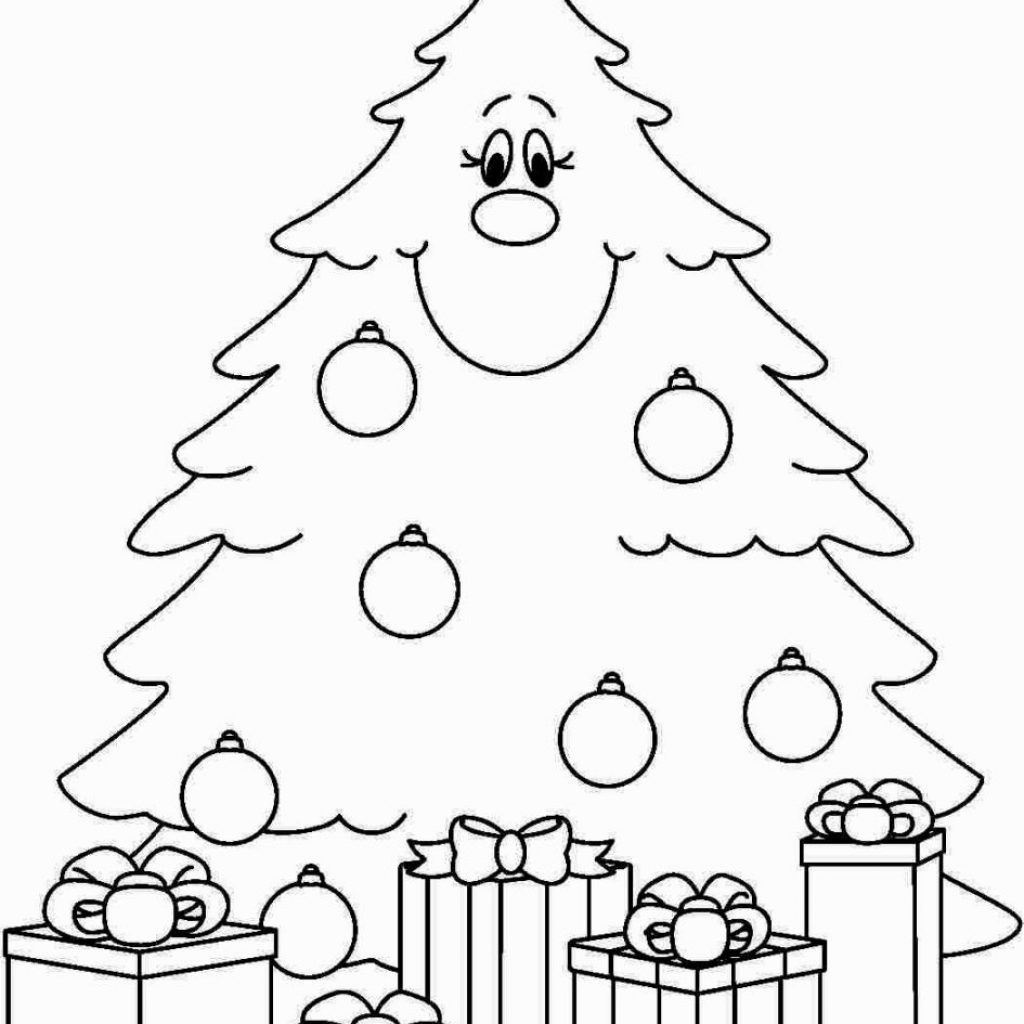 Christmas Coloring Pages Preschool With Pinterest