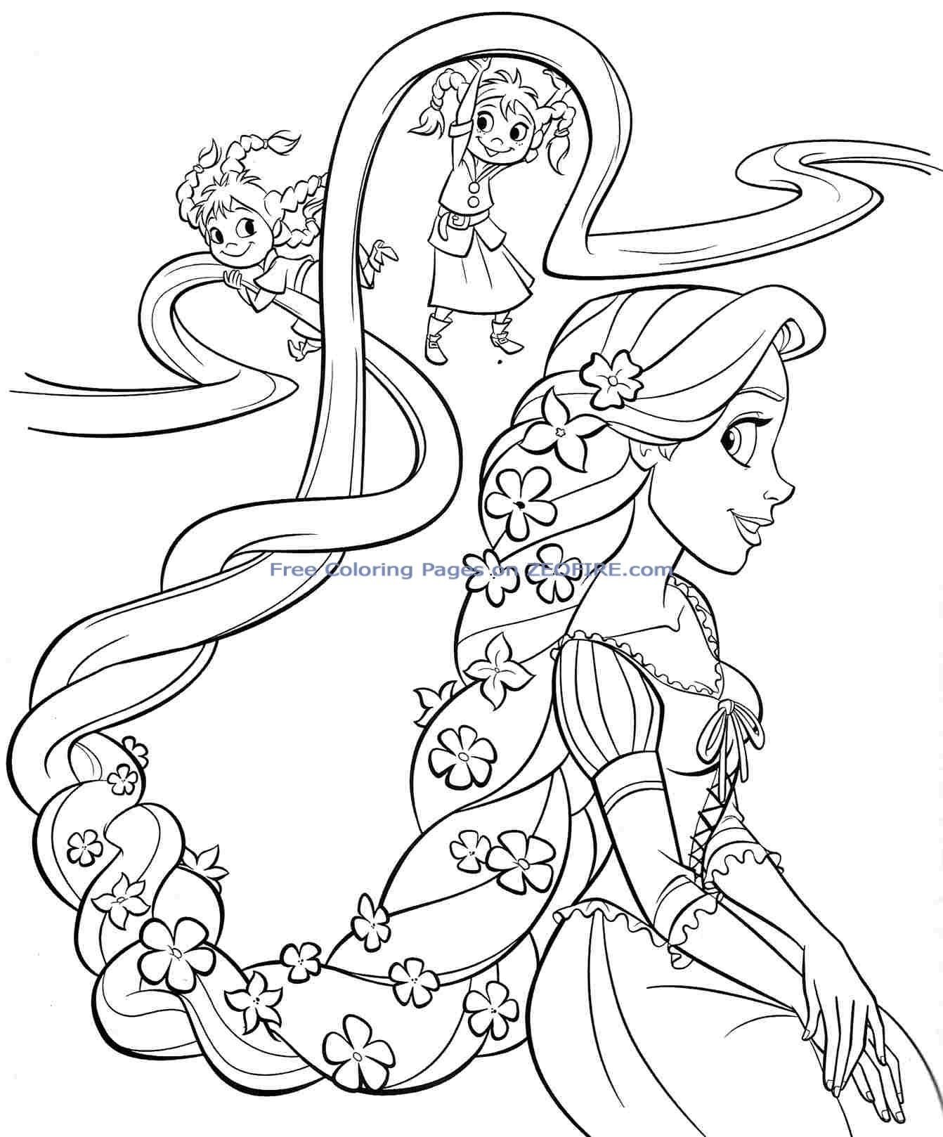 Christmas Coloring Pages Princess With Awesome Disney Design Free