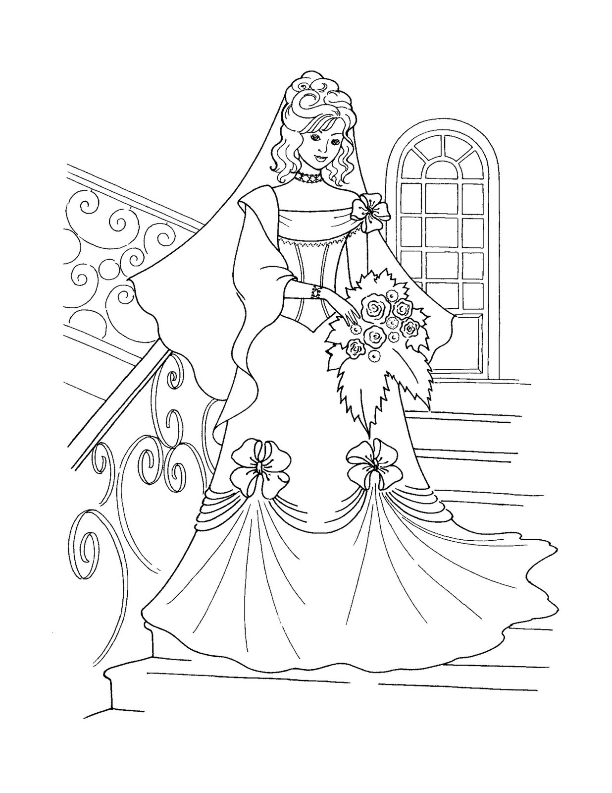 Christmas Coloring Pages Princess With Disney 2021079
