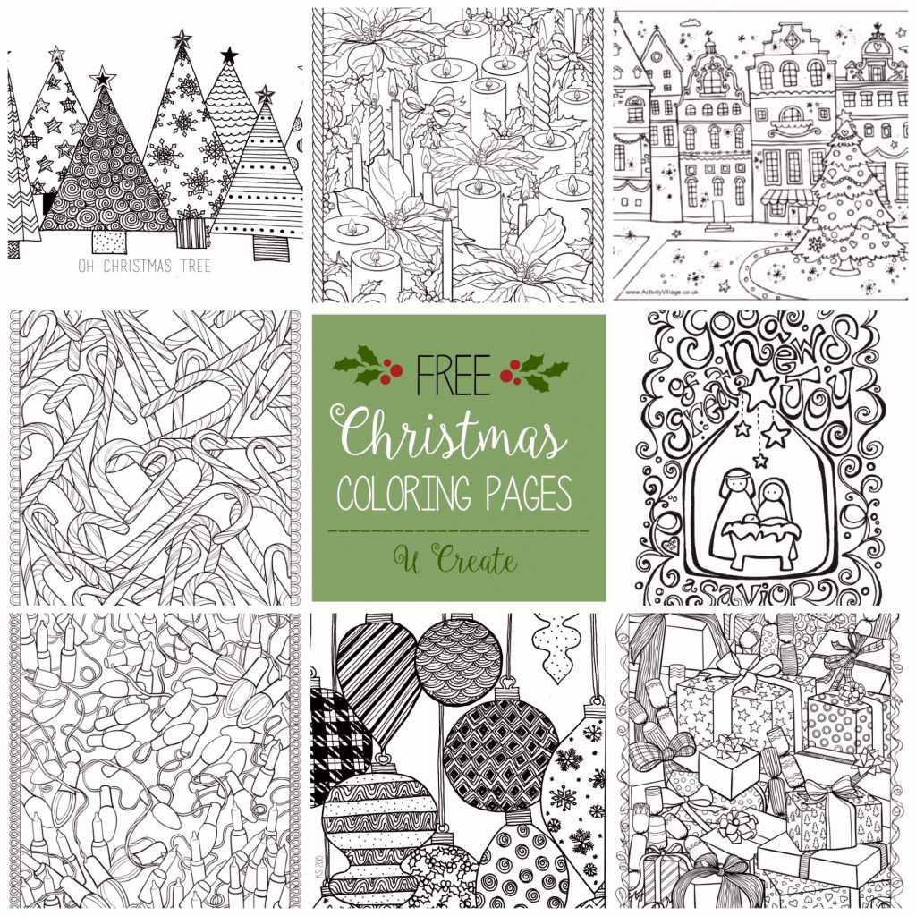 Christmas Coloring Pages Printable Crayola With Luxury Garland Simple
