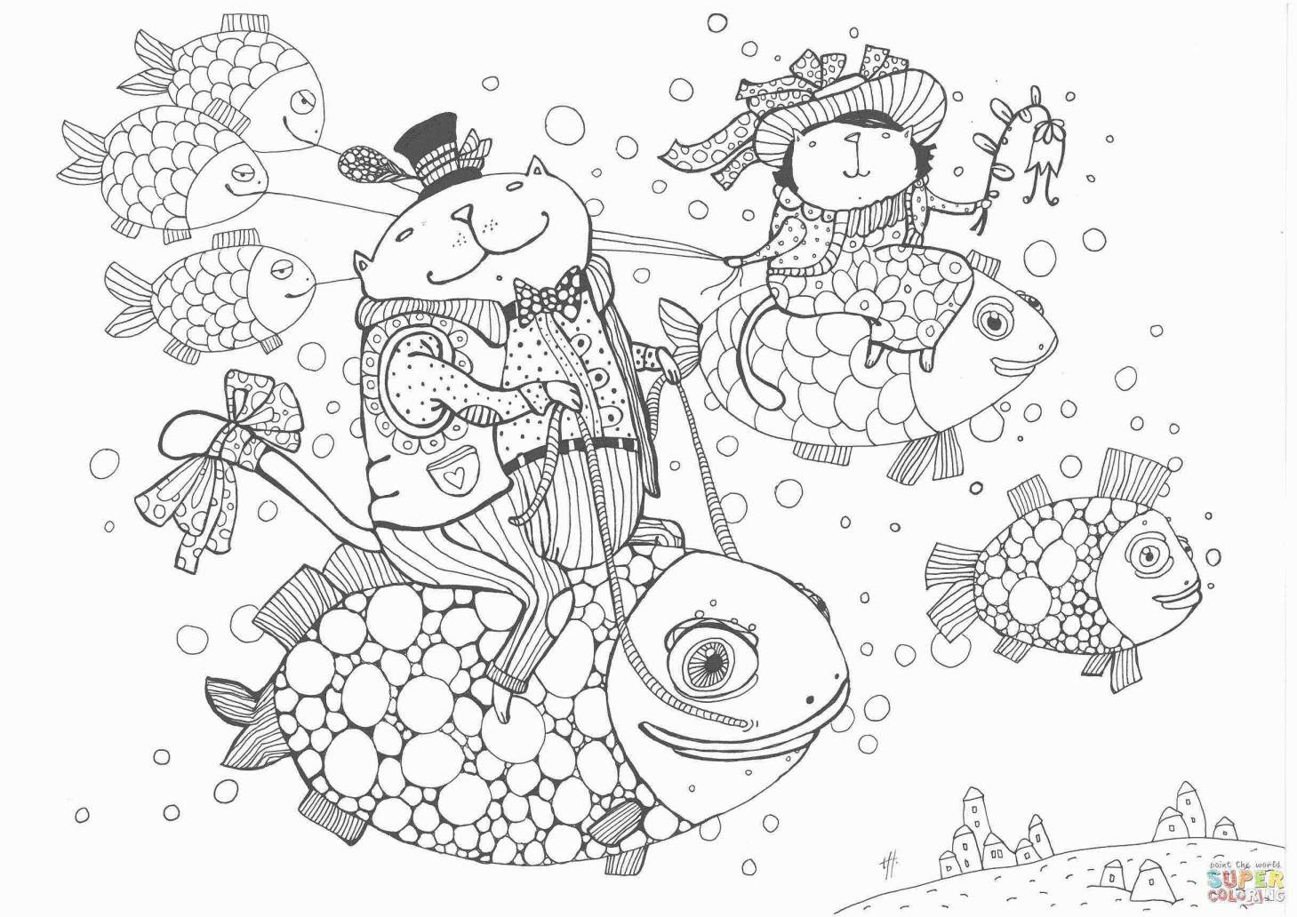 Christmas Coloring Pages Printable Santa With Grinch