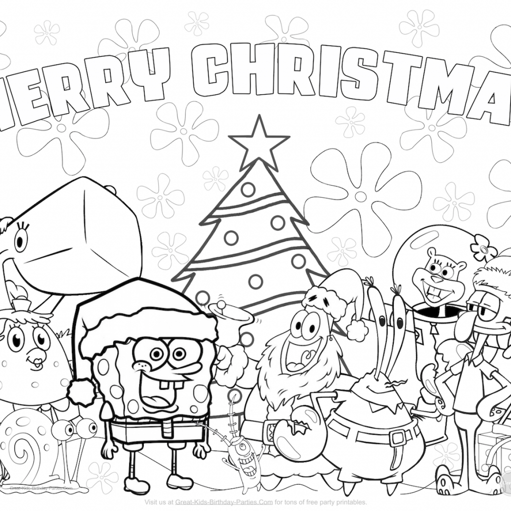 Christmas Coloring Pages Printable With