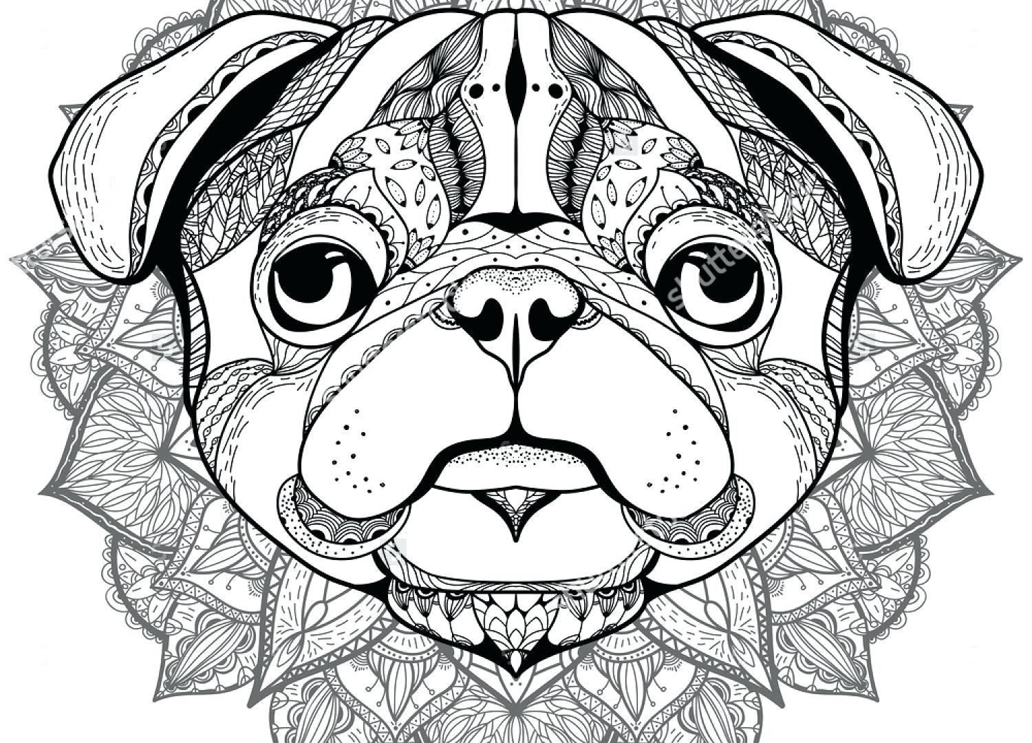 Christmas Coloring Pages Puppy With Cute Free Library