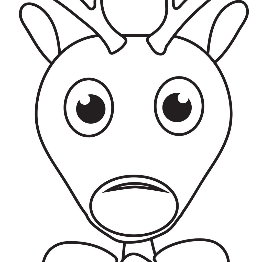 Christmas Coloring Pages Rudolph With C O L R I N G Pinterest