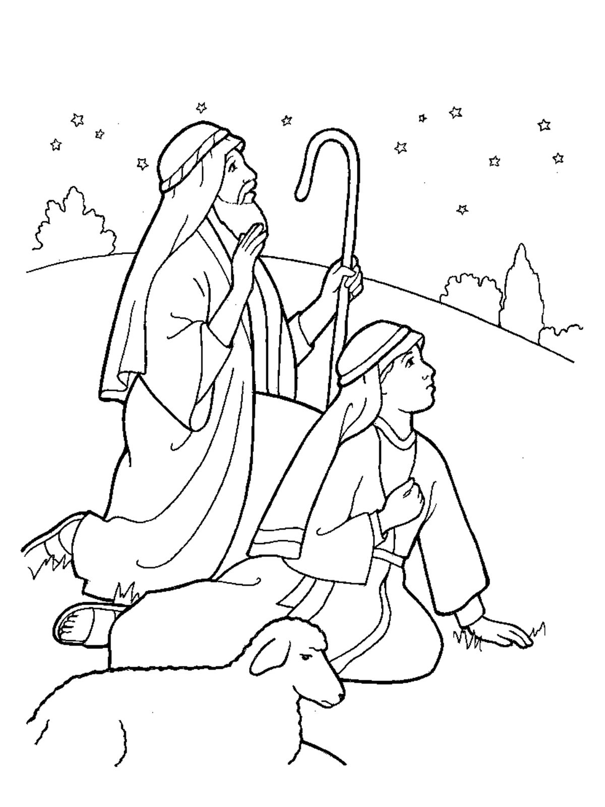 Christmas Coloring Pages Shepherds With Image Result For Shepherd Maze RE Class Pinterest