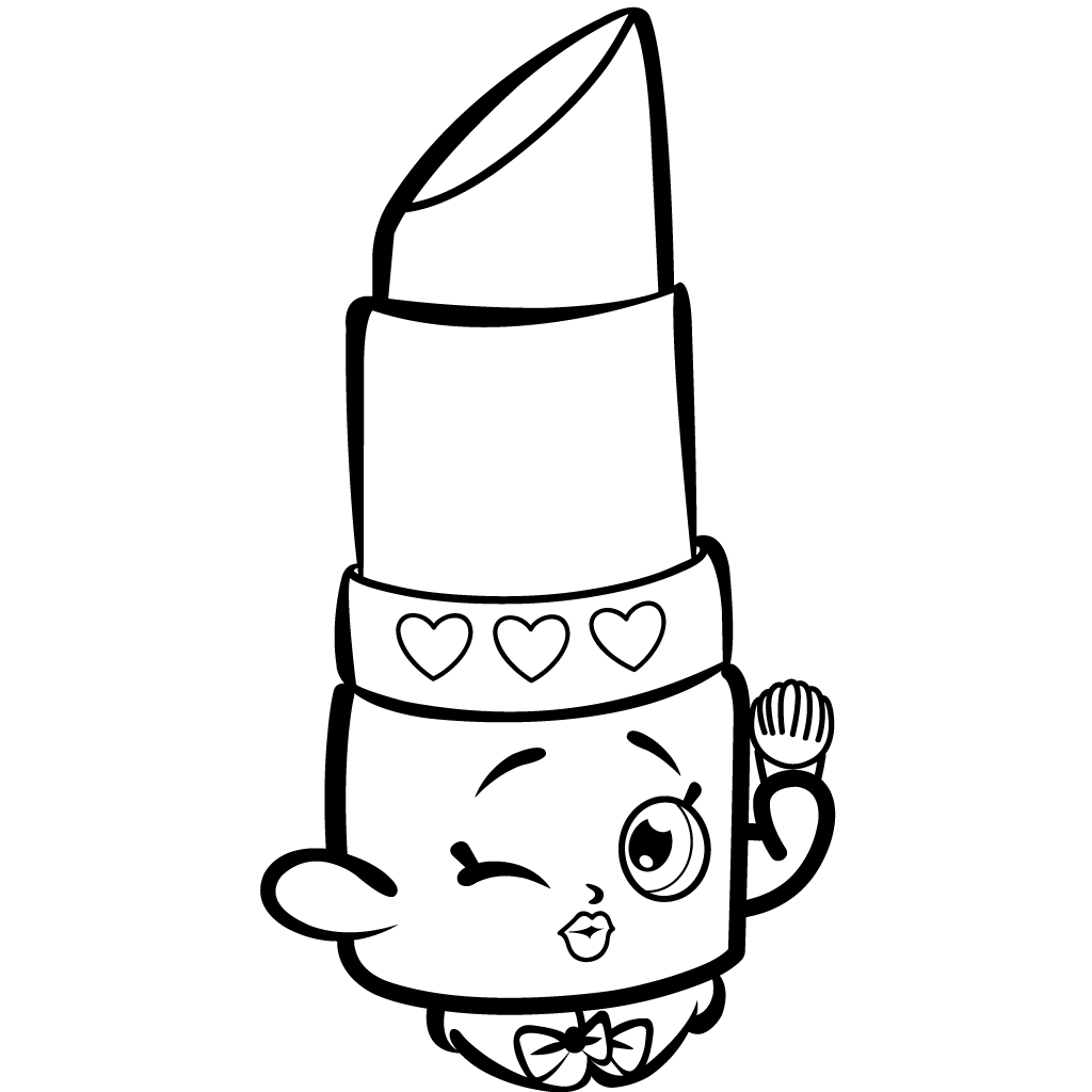 Christmas Coloring Pages Shopkins With 16 Unique And Rare Free For