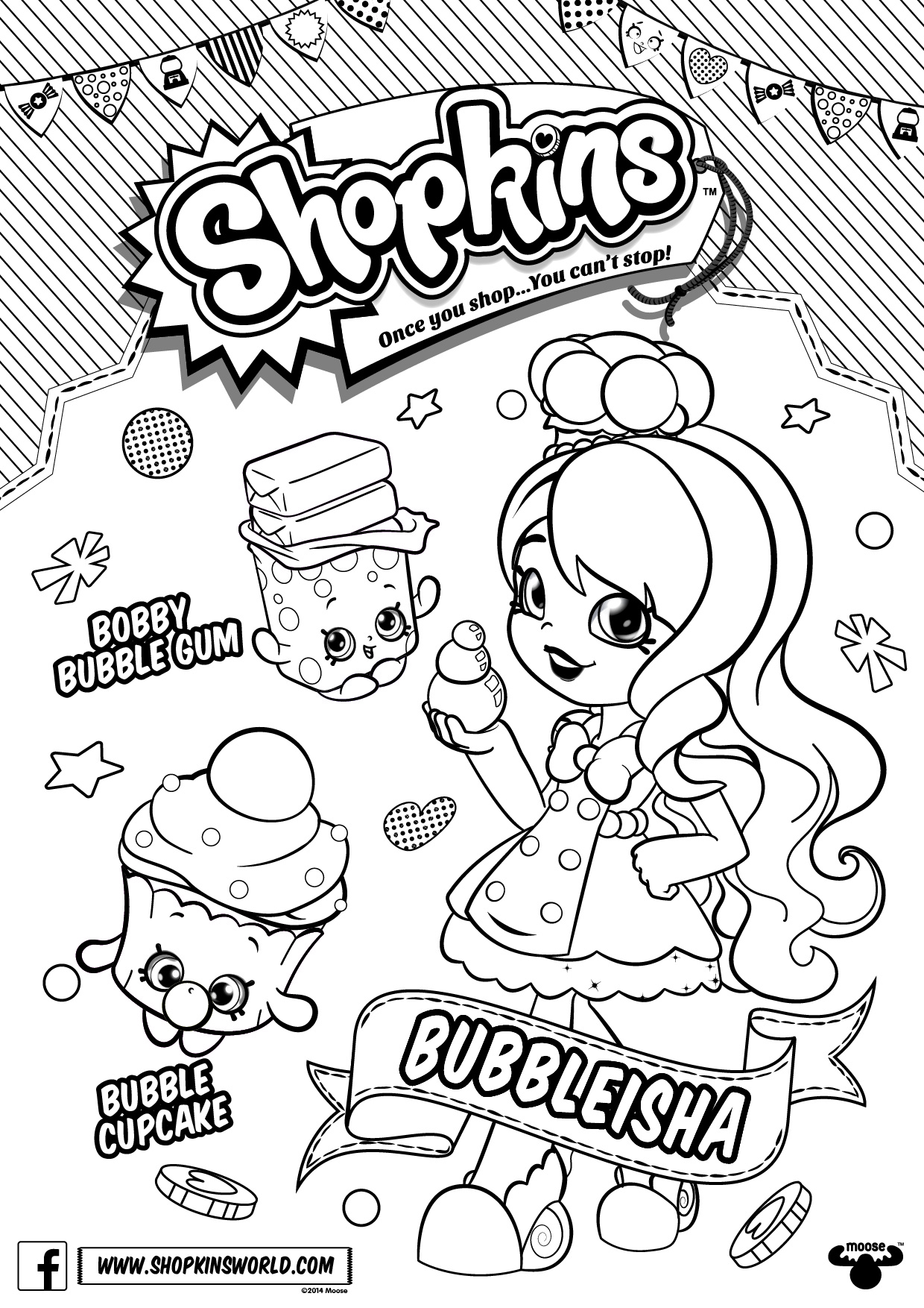 Christmas Coloring Pages Shopkins With Archive