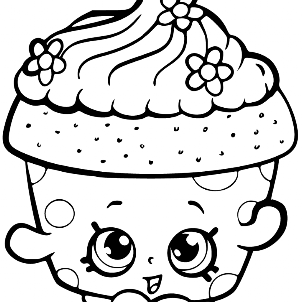 Christmas Coloring Pages Shopkins With Free