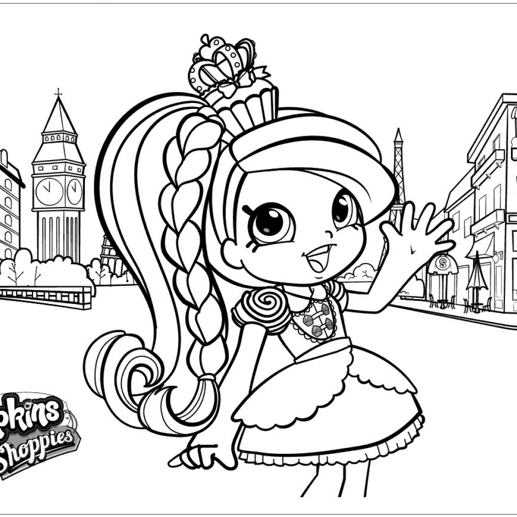 Christmas Coloring Pages Shopkins With Shoppies Shopkins00 Fine Online