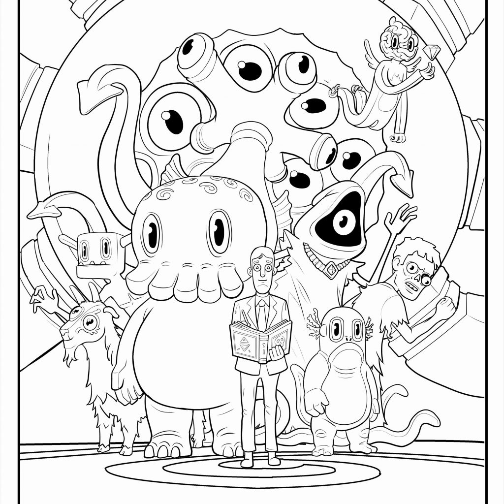 Christmas Coloring Pages Simple With
