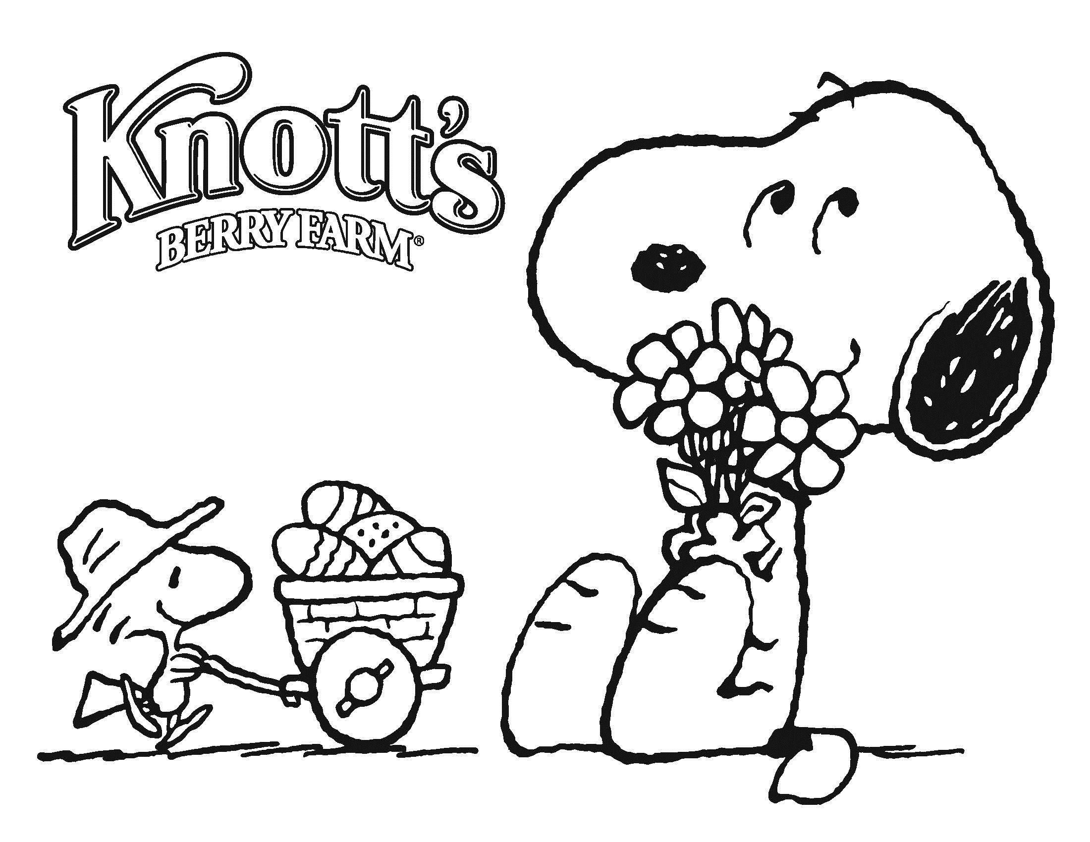 Christmas Coloring Pages Snoopy With Printable Home