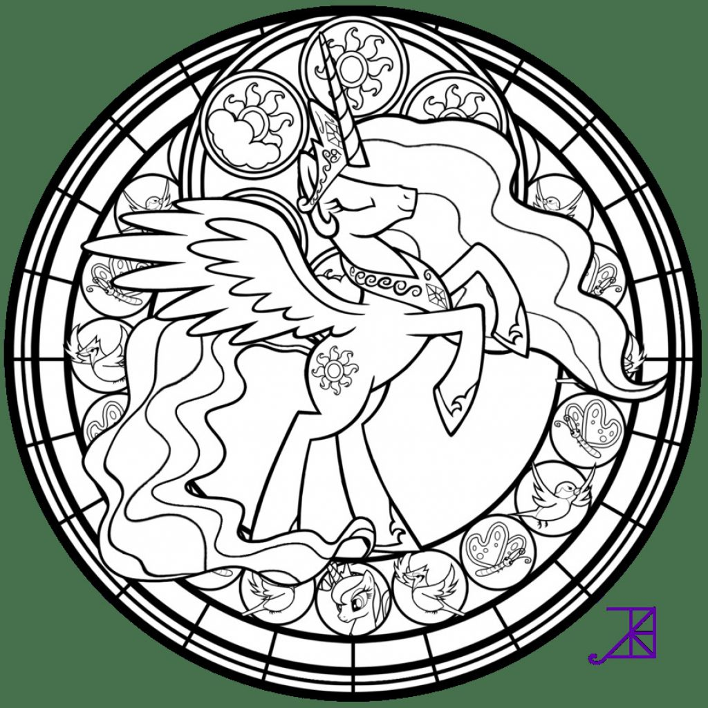 Christmas Coloring Pages Stained Glass With Books