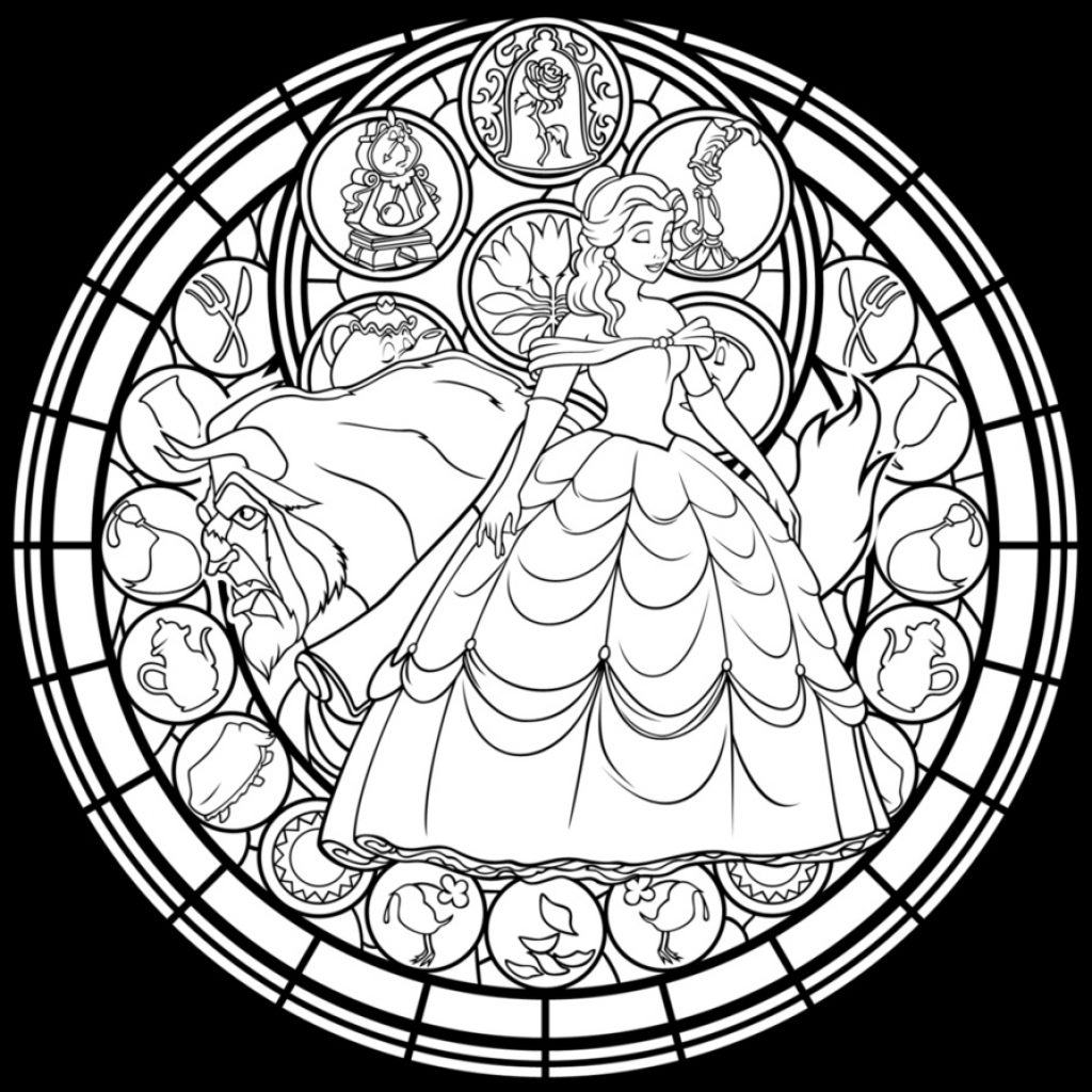 Christmas Coloring Pages Stained Glass With Inspirational Printable And Qqa Free