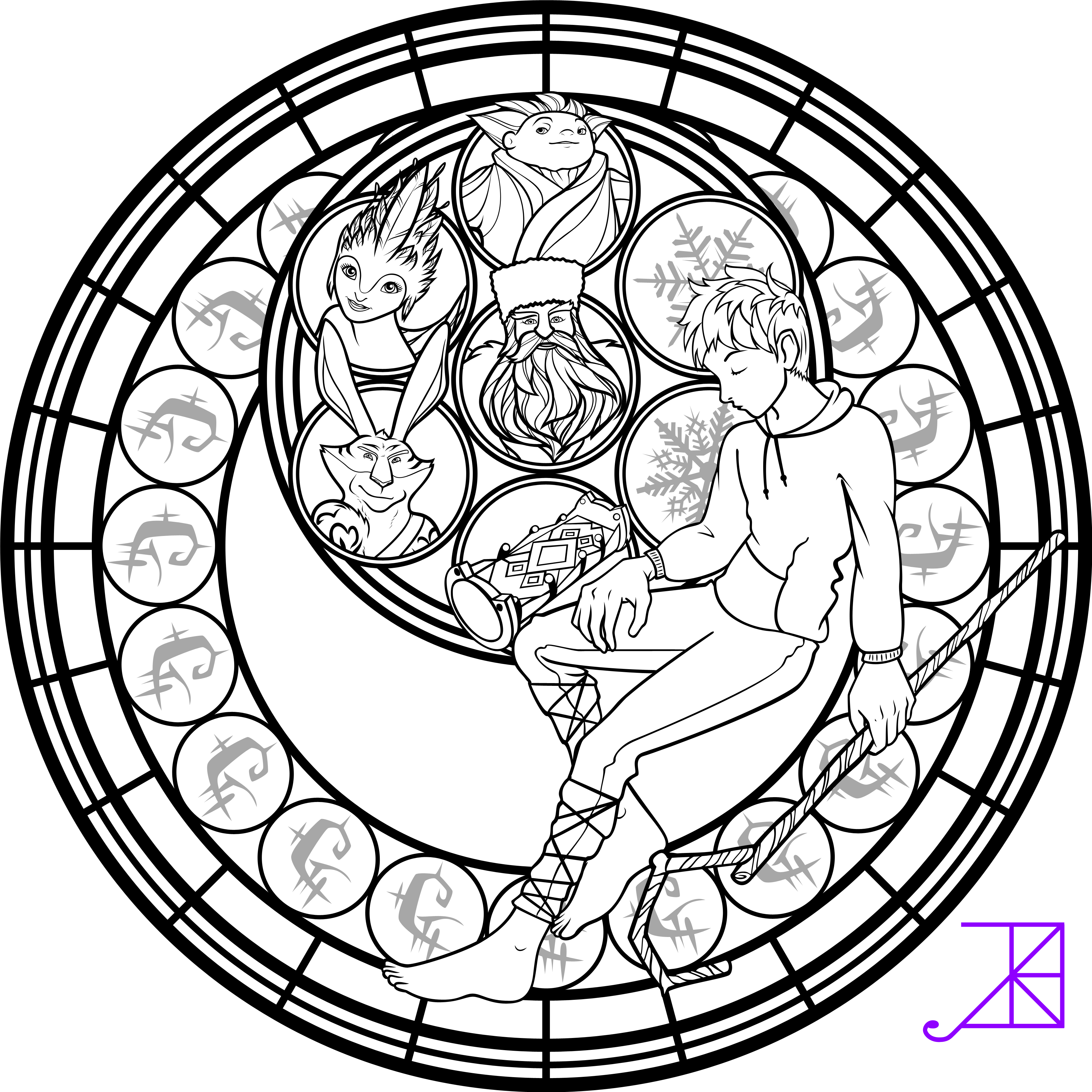 Christmas Coloring Pages Stained Glass With Pin By Arielle Mitchell On Disney Pinterest