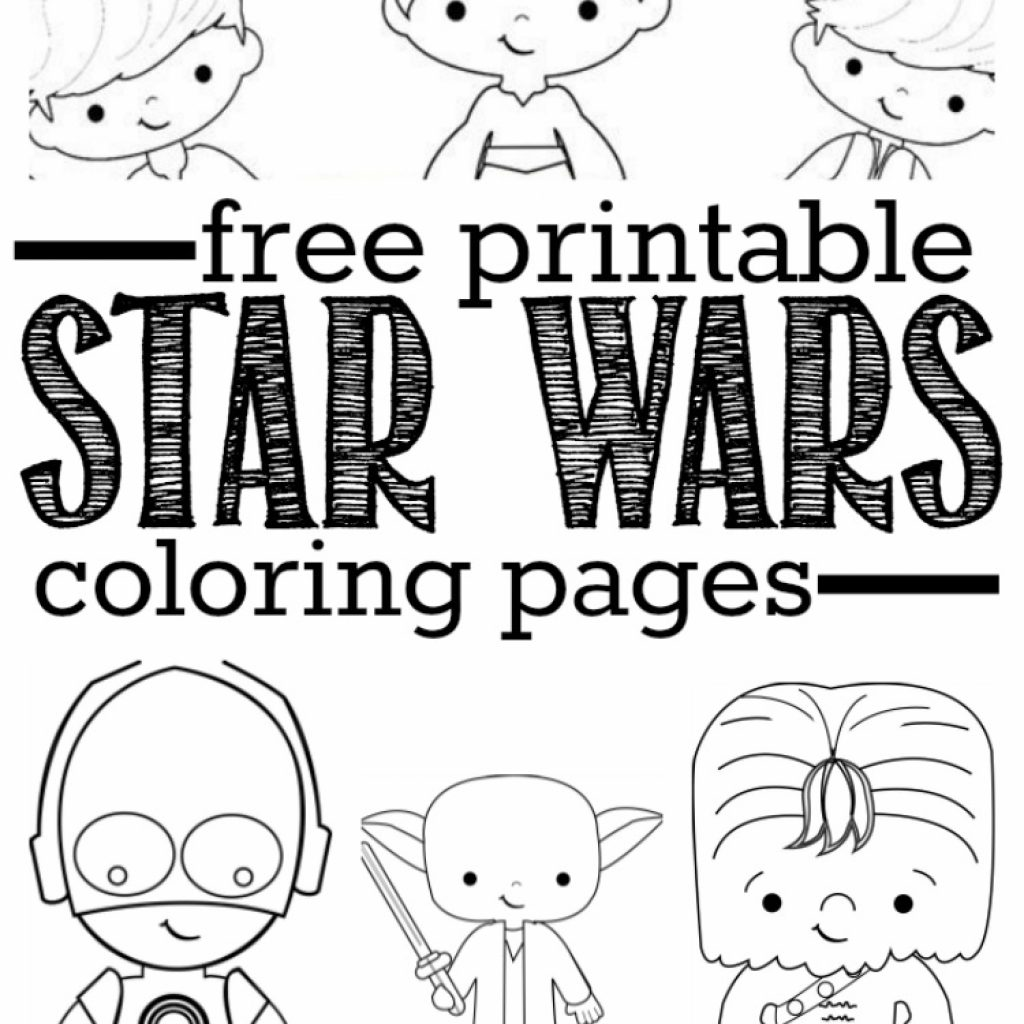Christmas Coloring Pages Star Wars With Free Printable 7 Bokamosoafrica Org