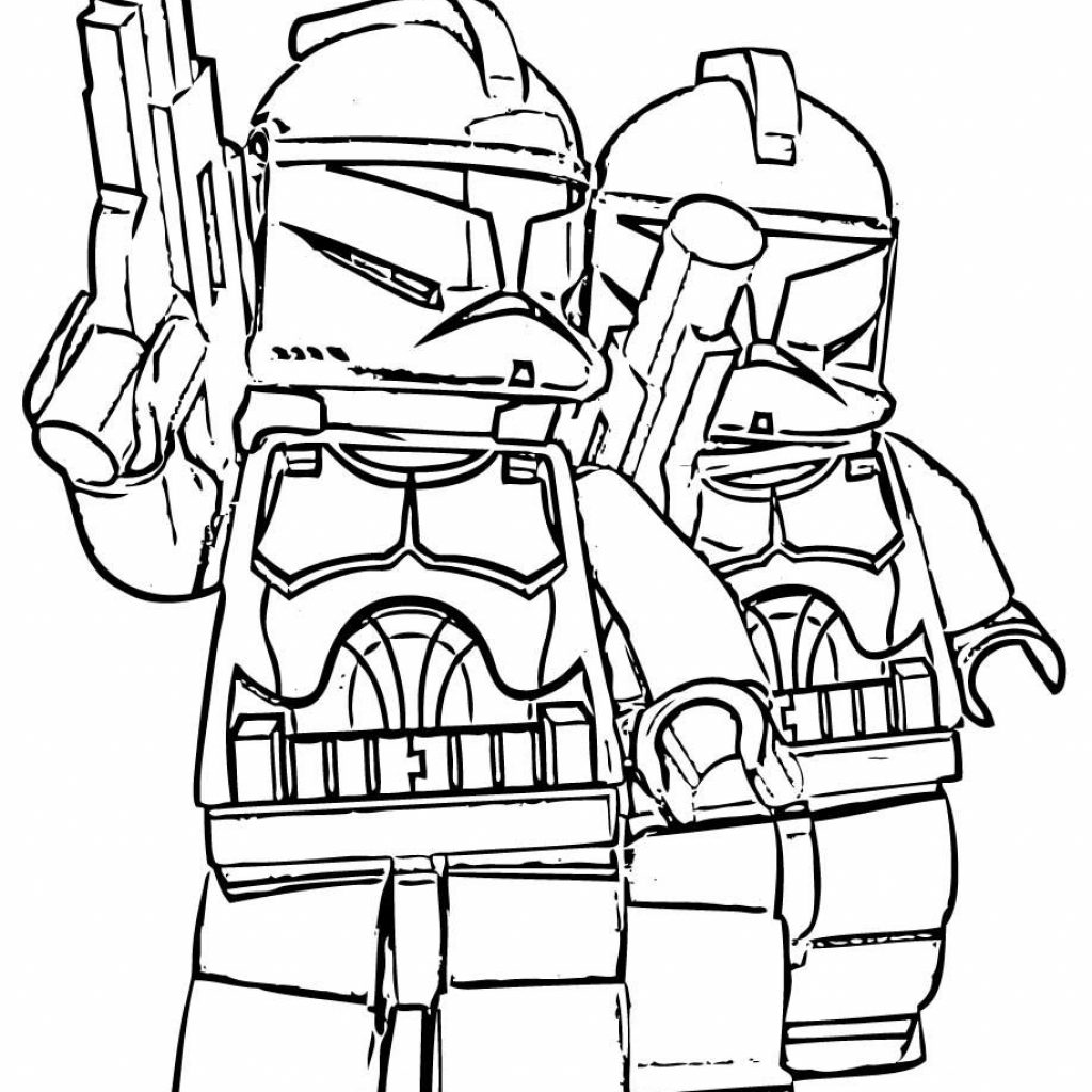 Christmas Coloring Pages Star Wars With Lego Stroom Tropers Free Printable