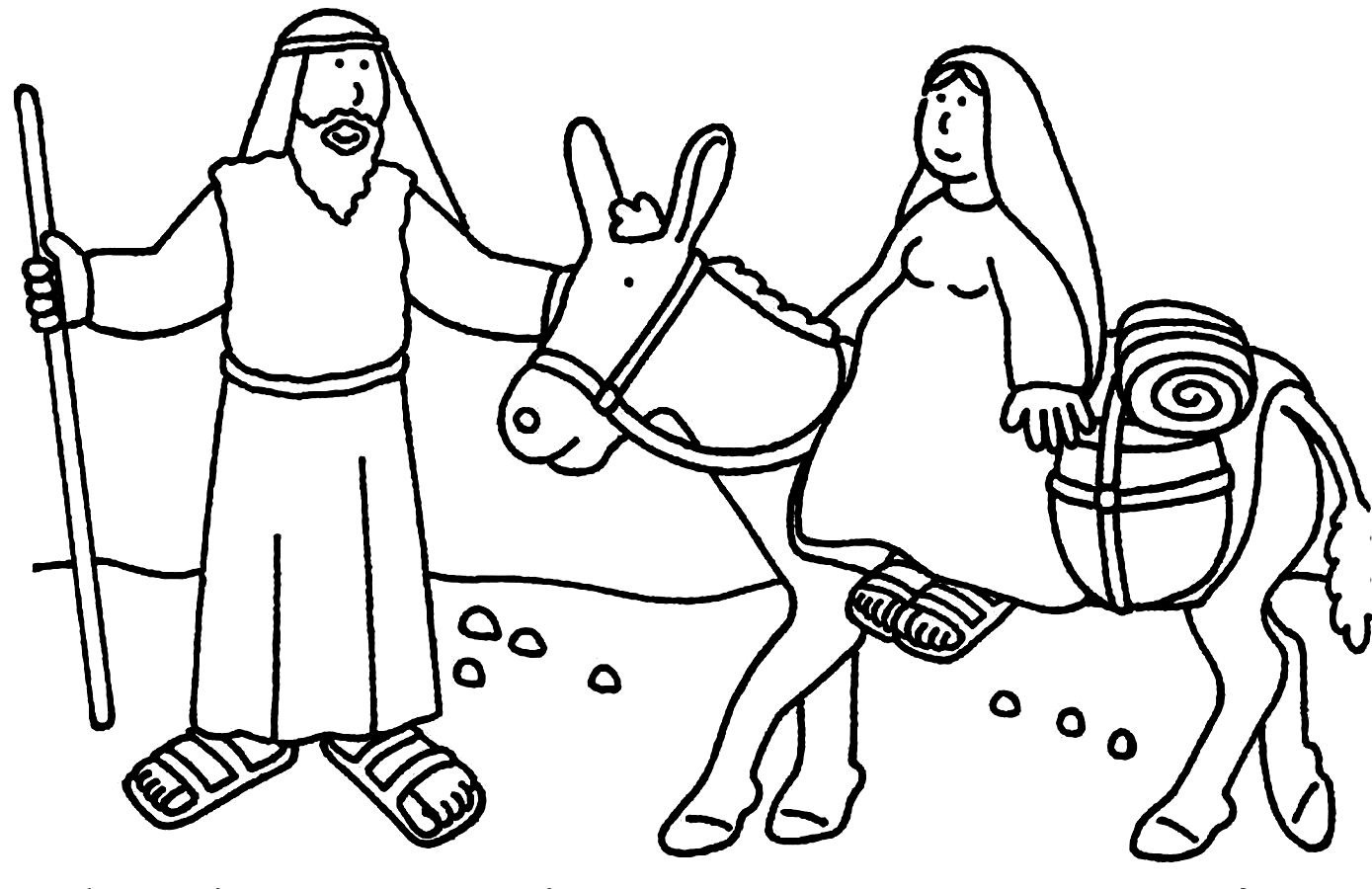 Christmas Coloring Pages Sunday School With Bible Story New