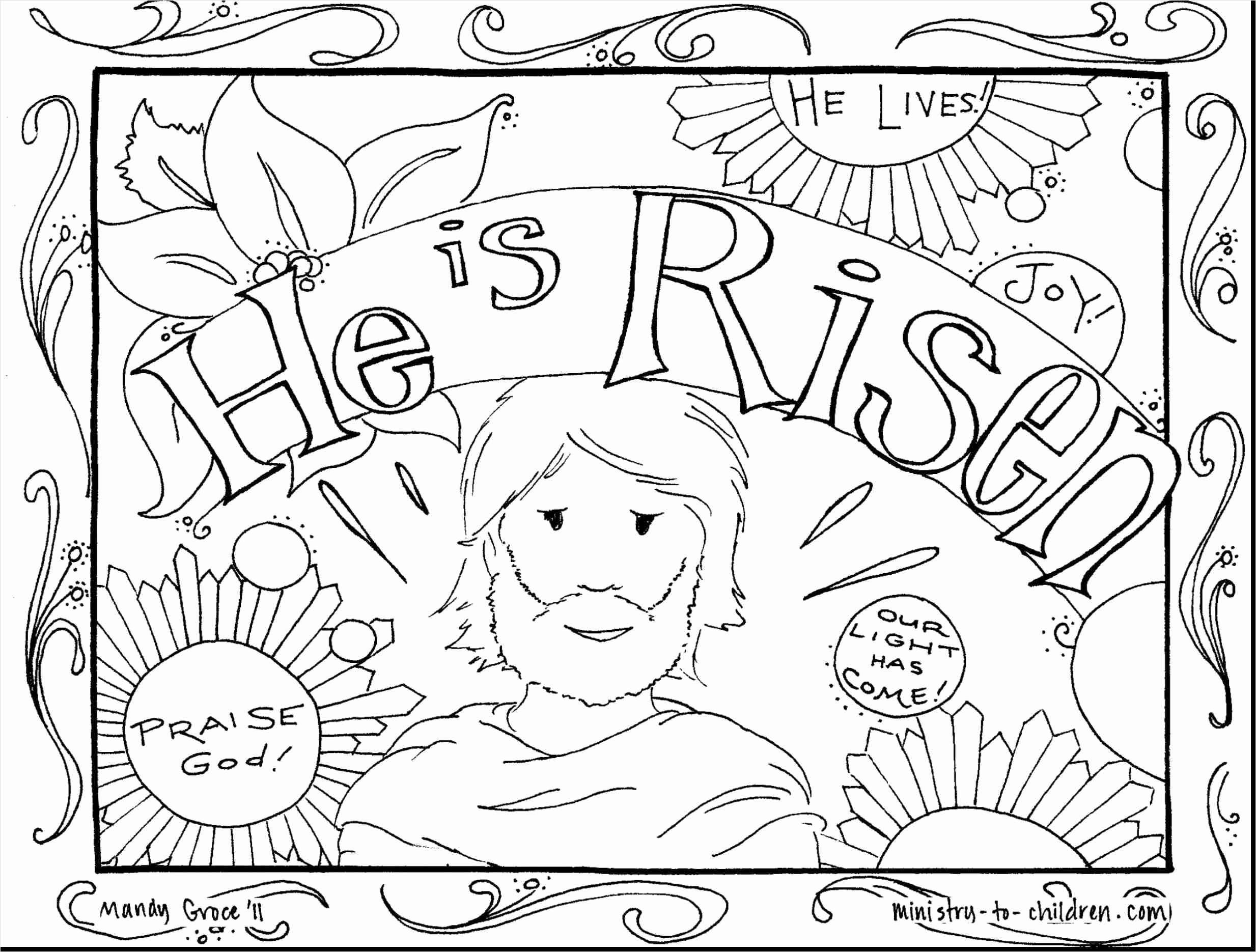 Christmas Coloring Pages Sunday School With Palm Page For