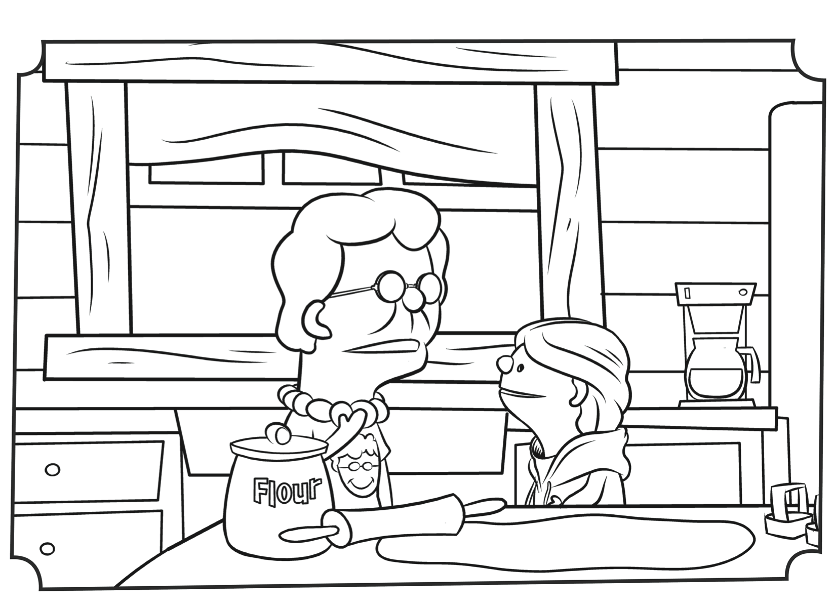 Christmas Coloring Pages Sunday School With Why Do We Call It Jellytelly Parents