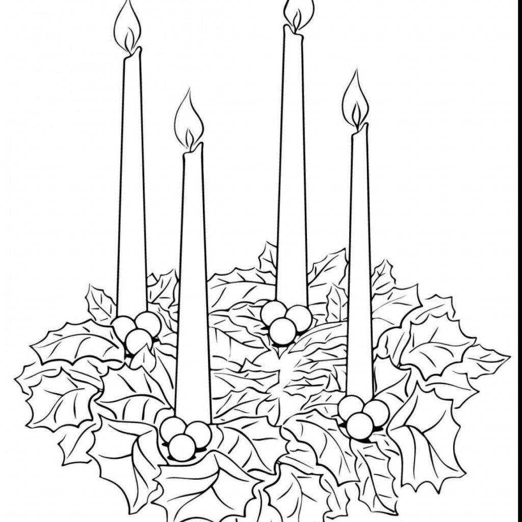Christmas Coloring Pages Supercoloring With Beautiful Candles Page Super Art N