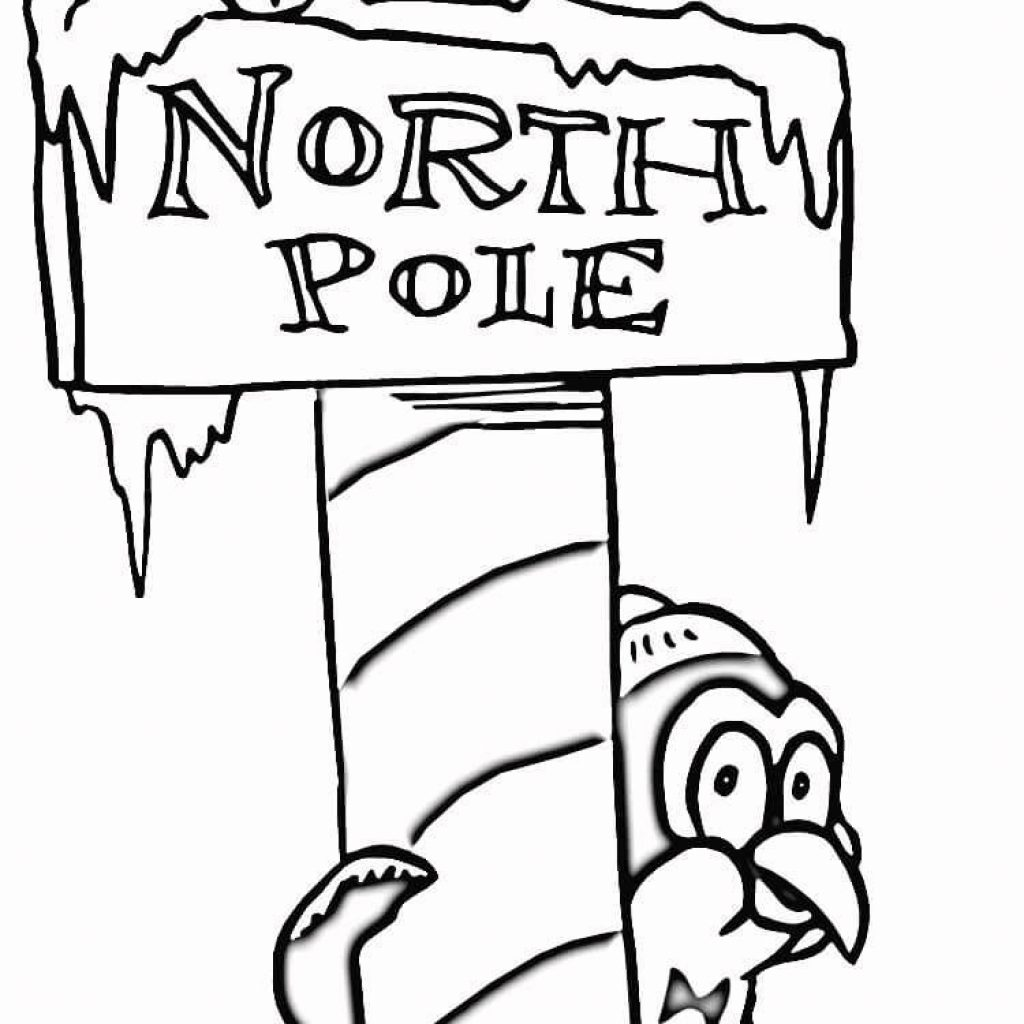 Christmas Coloring Pages Supercoloring With Click On The Below Best Printable North Pole
