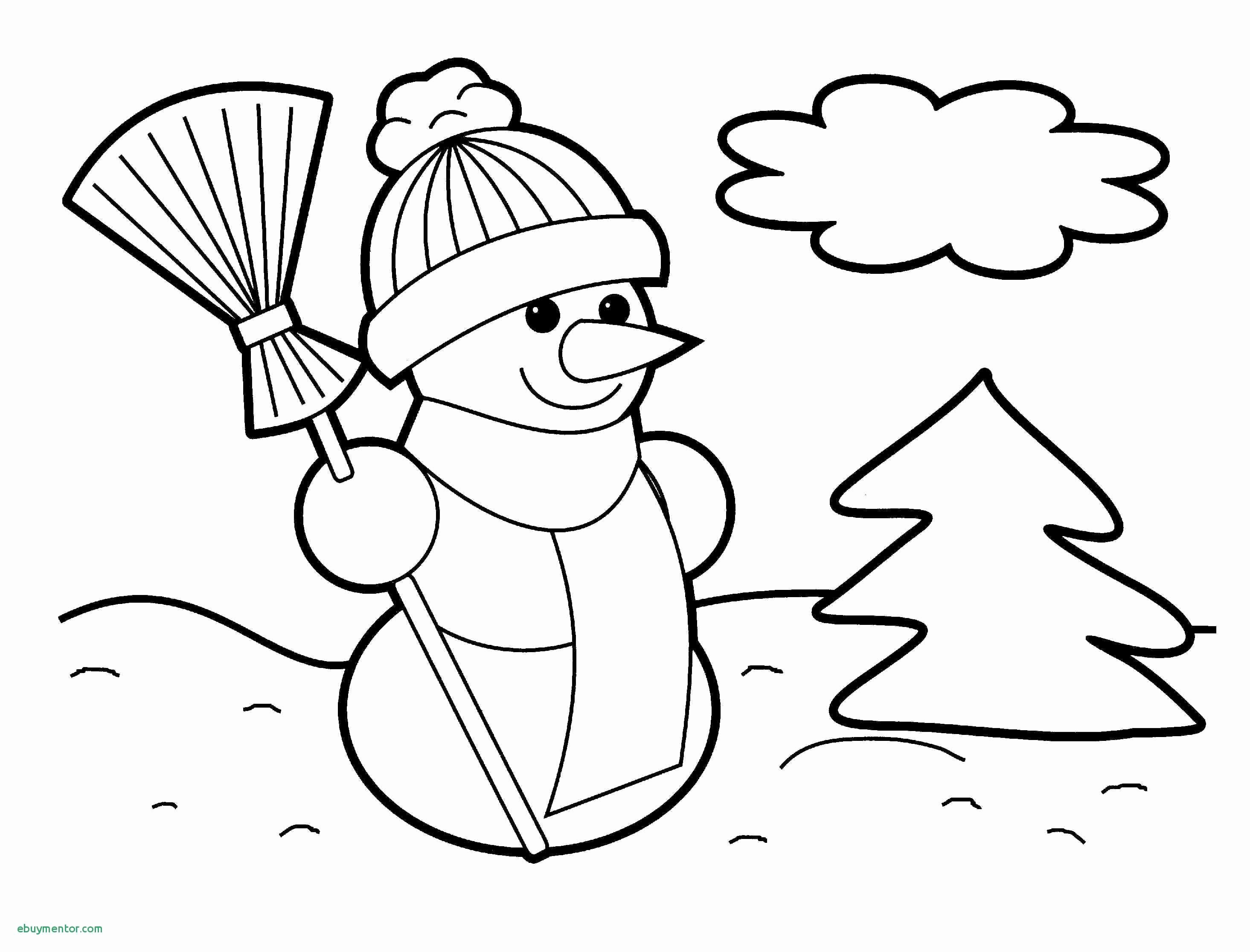 Christmas Coloring Pages Toddlers With Marvellous Toddler