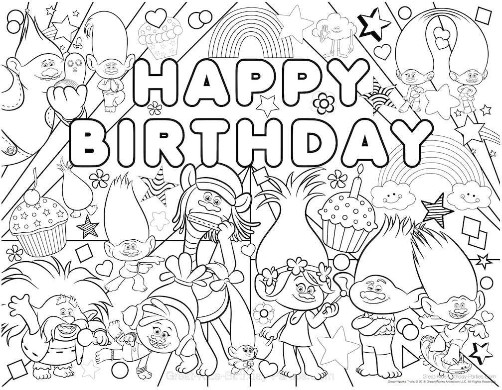 Christmas Coloring Pages Trolls With Crayola Nazly Me
