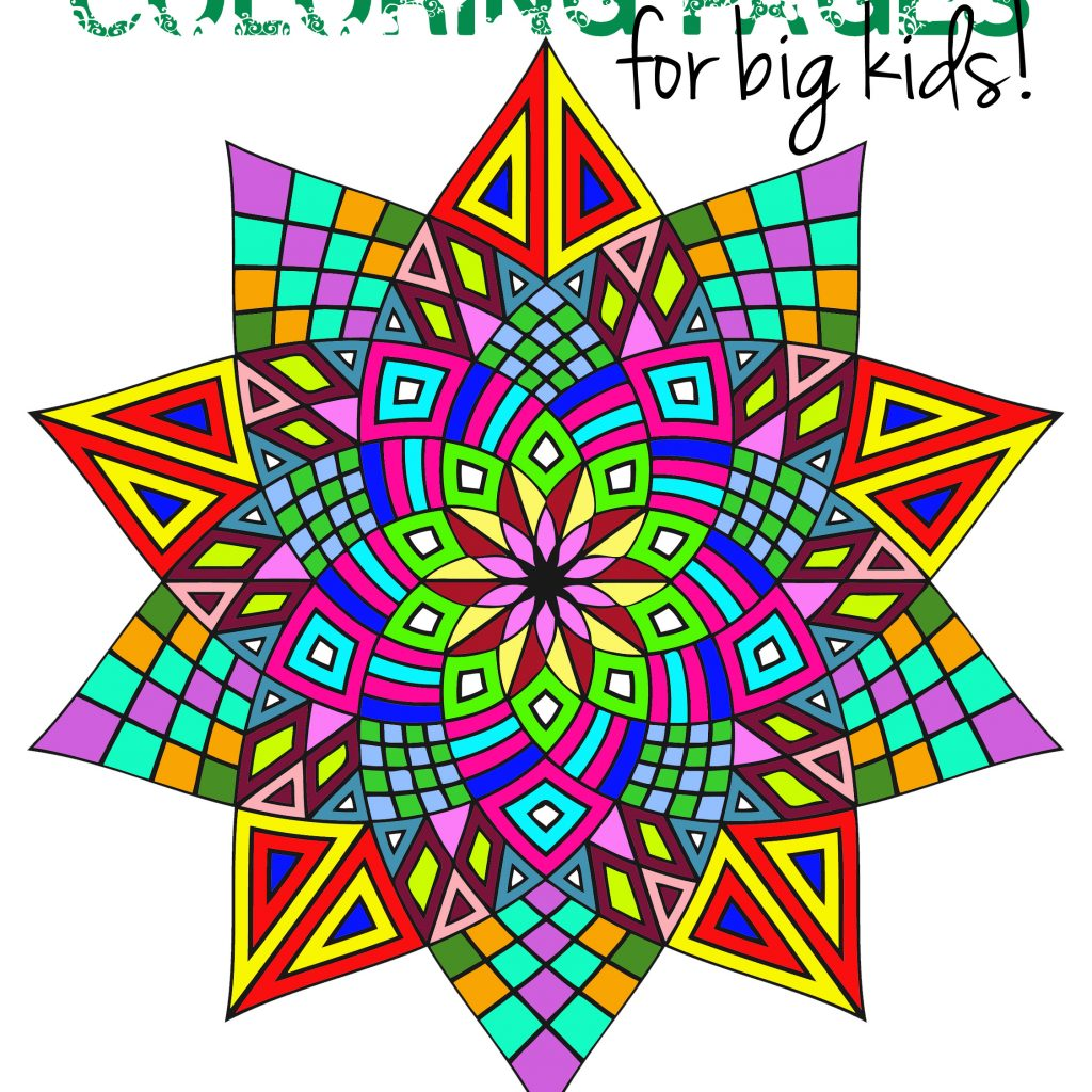 Christmas Coloring Pages Upper Elementary With Awesome For Older Kids Squarehead Teachers