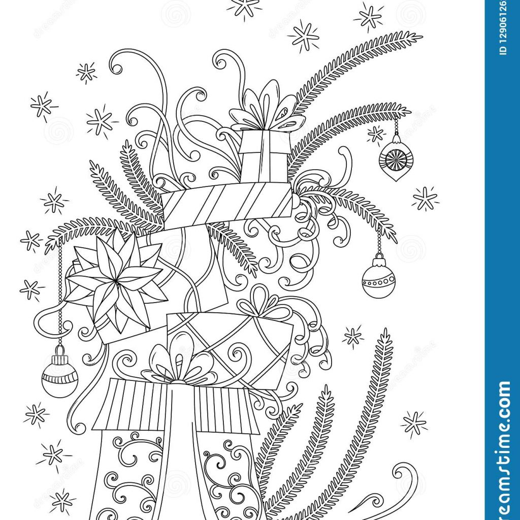 christmas-coloring-pages-vector-with-page-stock-illustration-of-merry-129061262