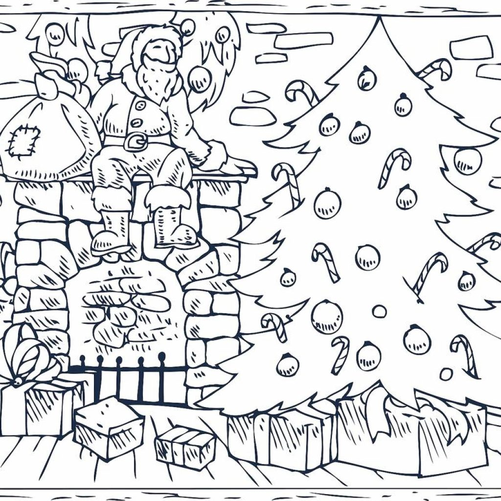 Christmas Coloring Pages With 16 Printable For The