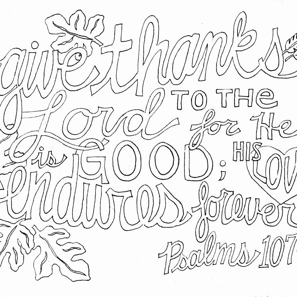 Christmas Coloring Pages With Bible Verses Printable Page