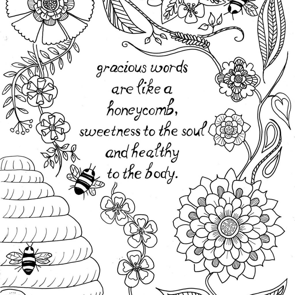 Christmas Coloring Pages With Bible Verses Scripture For Adults Pdf