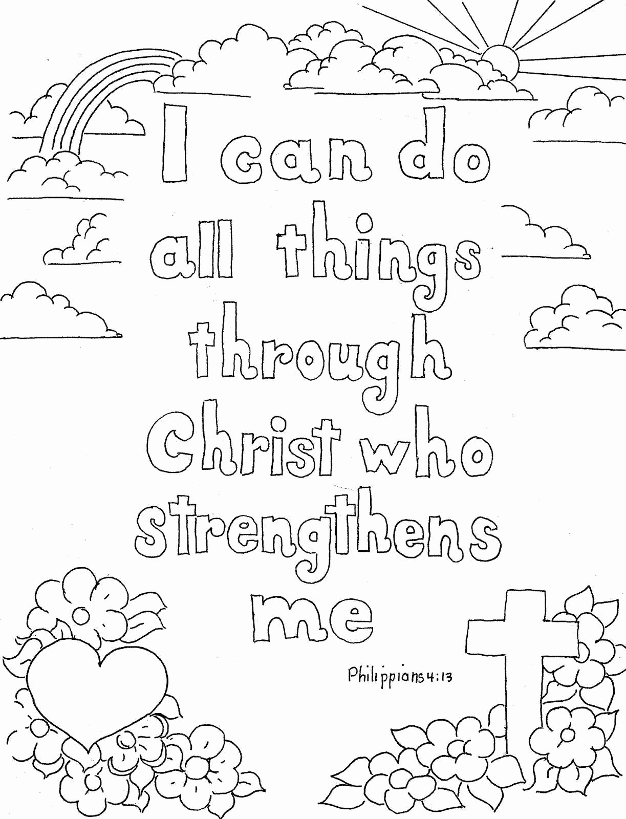 Christmas Coloring Pages With Bible Verses Verse In The Beginning Elegant 11