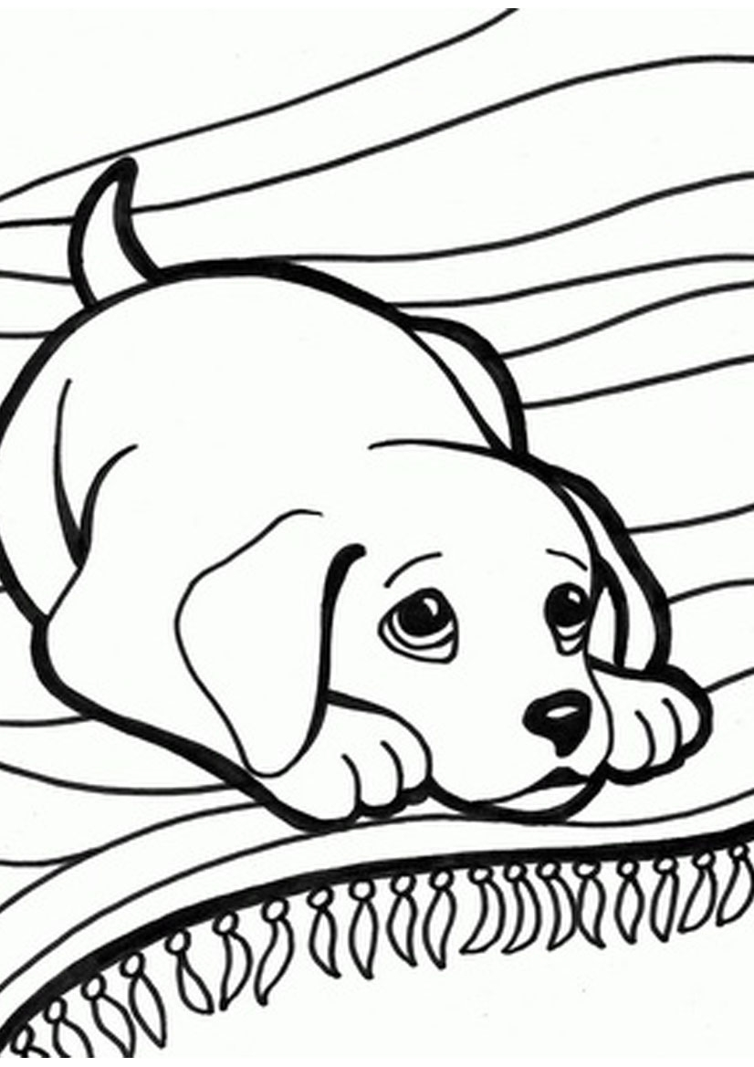 Christmas Coloring Pages With Dogs Cute Of Baby Puppies Gallery My